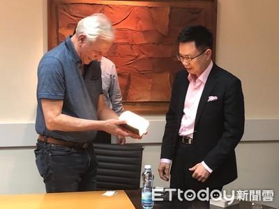 貿協董事長黃志芳拜會以色列比爾蓋茲 尋求台以加強合作