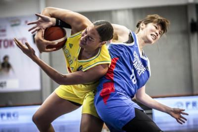 奧運資格會外賽/中華51比84澳洲