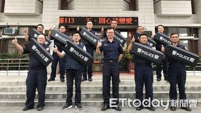 因應突發事故 內埔警採購臂盾