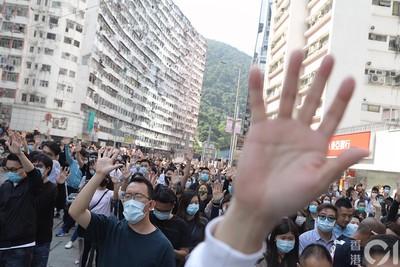 香港今再度多區「和你LUNCH」 中環、銅鑼灣、太古佔路