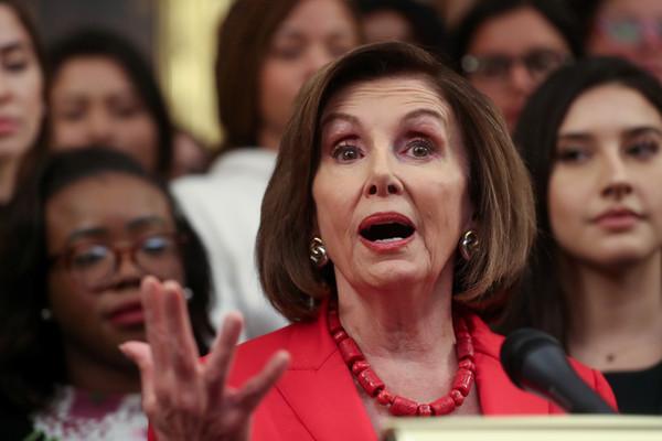 ▲▼ 美國眾議院議長裴洛西(Nancy Pelosi)。(圖/路透)