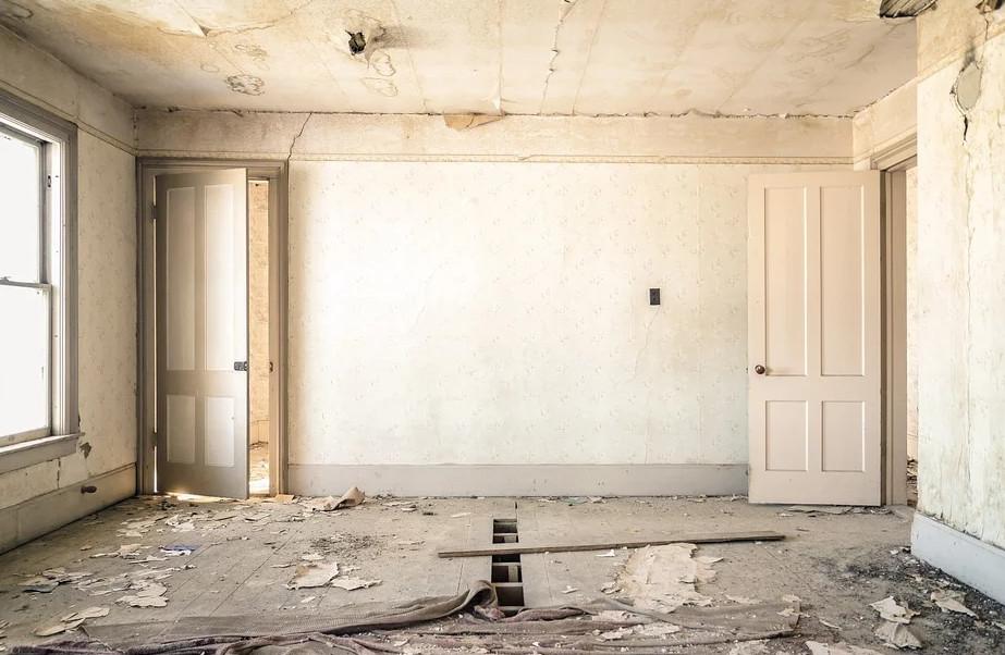 ▲空屋,牆壁(示意圖/取自免費圖庫Pixabay)