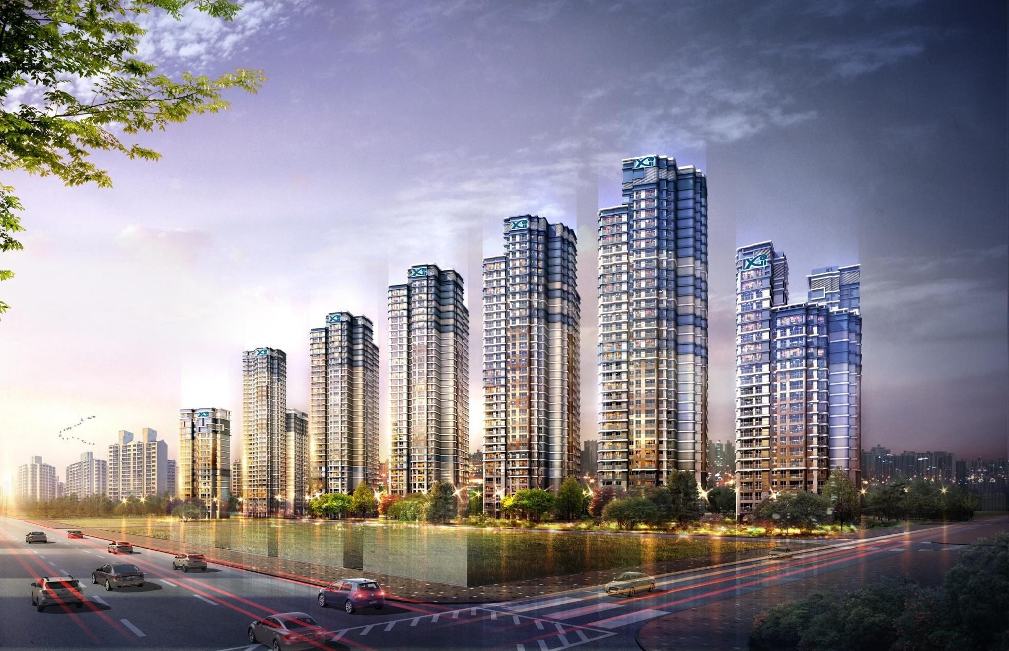 ▲▼首爾盤浦洞高級公寓大樓(示意圖/翻攝自GS E&C)