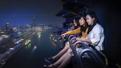 5D科技「飛越台灣」i-Ride飛行劇院超夯
