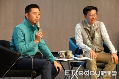 林智堅台南經驗交流 暢談竹科發展