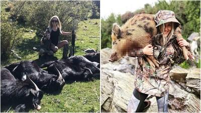 帶3寶去打野豬!紐國辣媽癡迷打獵「懷孕也停不了」:超省買肉錢