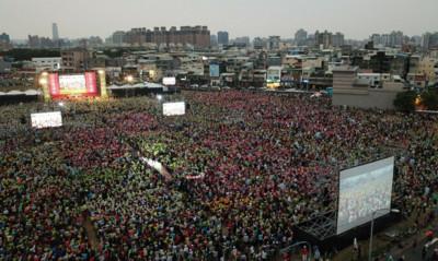 空拍超震撼!韓國瑜惹怒市民...10萬高雄人挺小英「光復高雄」