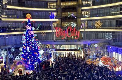 Big City聖誕樹點燈 最強周年慶開跑倒數