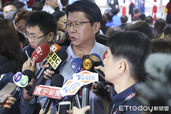 ▲▼1116 國民黨中央委員會-謝龍介。(圖/記者黃克翔攝)