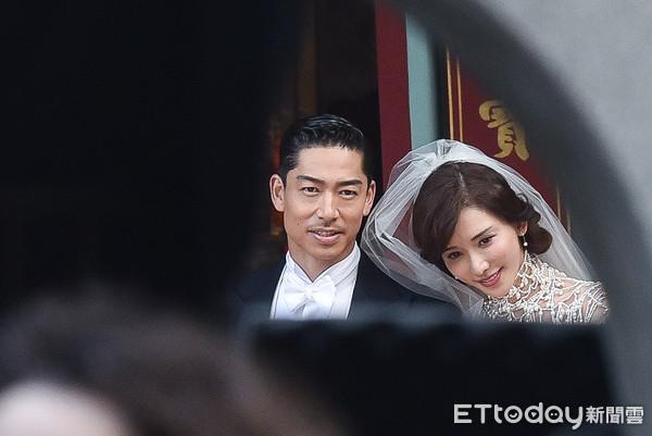 ▲▼林志玲、Akira婚禮彩排。(圖/記者李毓康攝)