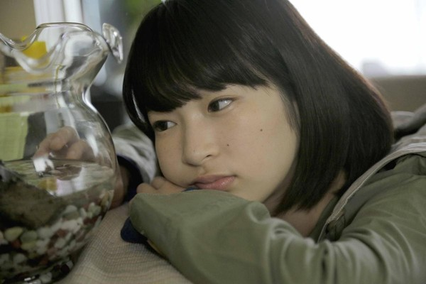 石川瑠華穿著綠色衣服去試鏡《伊索遊戲》,演技亦令導演為之眼睛一亮。(天馬行空提供)