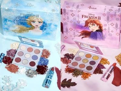 ColourPop推專屬Elsa與Anna彩妝