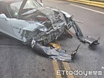 北宜公路6天內2部S2000撞毀 車迷心痛