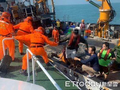 海研3號21歲男船員疑胃出血!海巡急救援