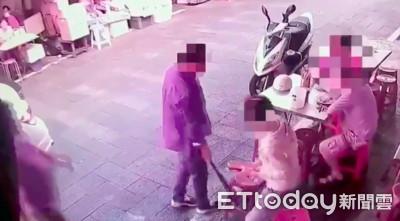 板橋臭豆腐名店遭砸潑尿 新竹三光幫幹的