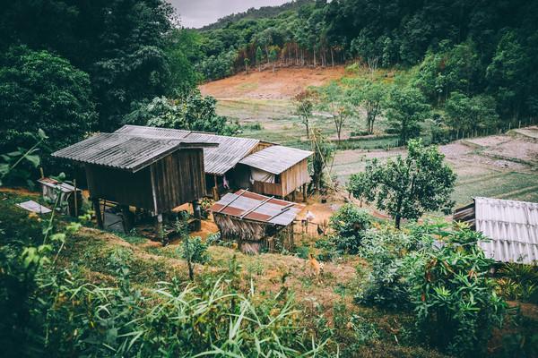 農場,鄉下,山區(圖/取自免費圖庫stocksnap)