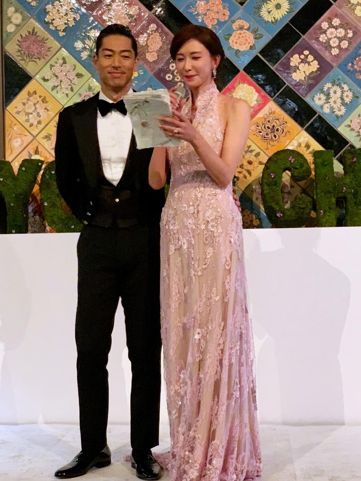 ▲林志玲,AKIRA婚禮。(圖/SHIATZY CHEN提供)