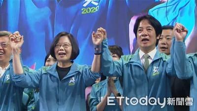 LIVE/蔡英文與賴清德赴中選會登記參選