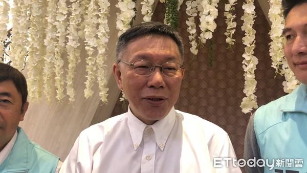 ▲▼台北市長柯文哲。(圖/記者楊亞璇攝)
