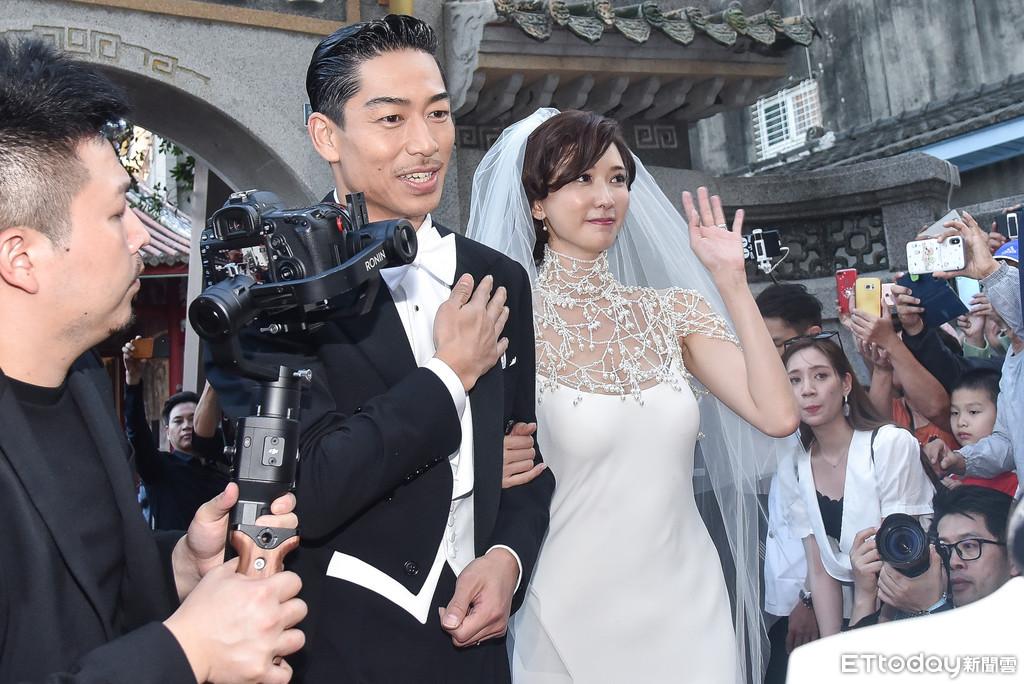 ▲▼林志玲、AKIRA婚禮。(圖/記者李毓康攝)