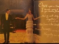 林志玲穿30萬元「隱藏版禮服」謝客!下半身全透視 羽毛輕晃和老公起舞
