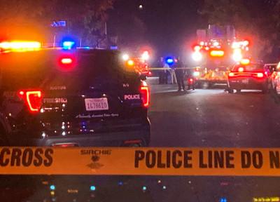 加州槍擊4死 至少10人中彈