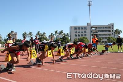 台東中小學田徑賽打破7項紀錄