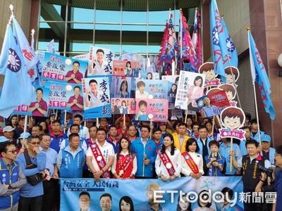 國民黨台南6選將聯合完成登記