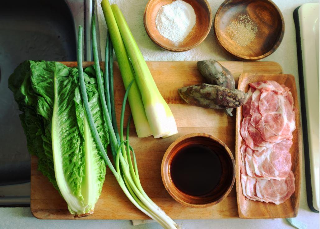 ▲復刻食譜,八風菜。(圖/國立臺灣歷史博物館提供,請勿隨意翻拍,以免侵權。)