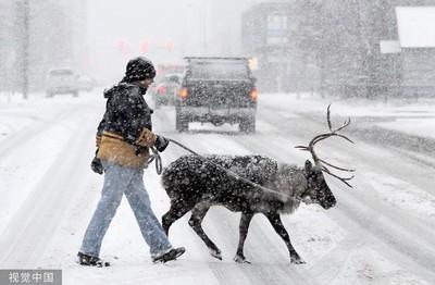 安克拉治同日破紀錄高溫與降雪