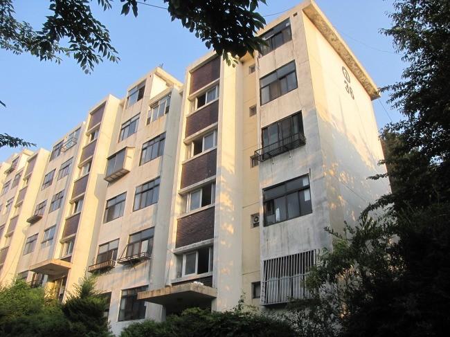 ▲▼位於釜山海雲台的「住公公寓」(圖/翻攝自南韓論壇Tistory)