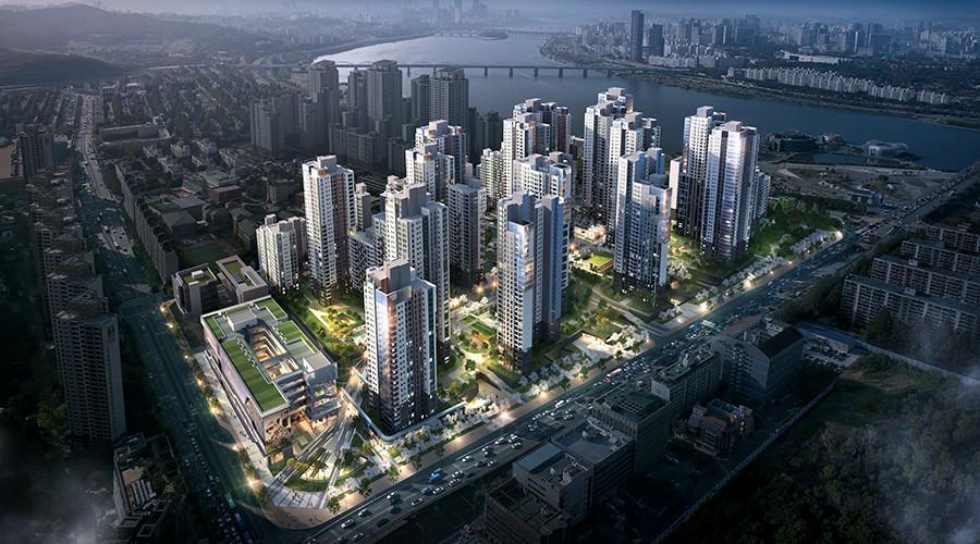 ▲▼三星物產的品牌公寓「來美安」位於首爾瑞草區盤浦2洞的建案(圖/翻攝自來美安官網)