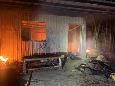 出火部落點菸引燃天然氣 屋毀人傷