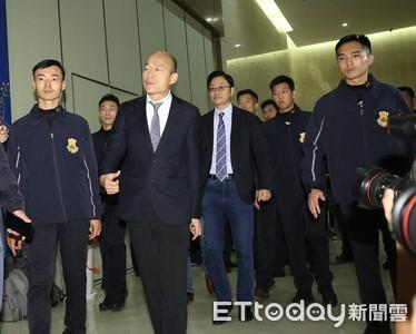 韓國瑜回擊蔡英文:總統府在等一個良心!