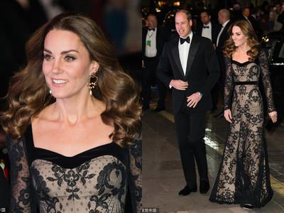 凱特王妃美翻英國皇家大匯演現場