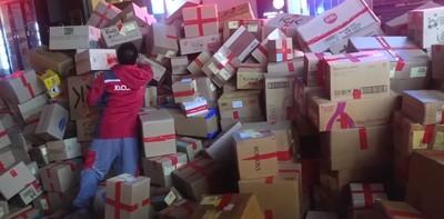 她雙11狂買1600件商品塞爆物流中心
