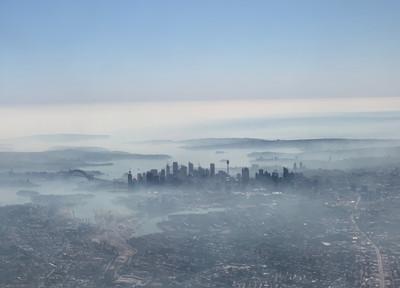 雪梨氣溫飆37度 空氣太髒路人狂咳嗽