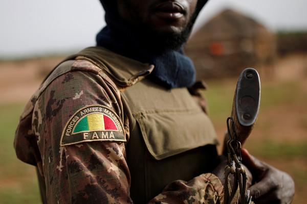 ▲▼ 西非國家馬利軍隊。(圖/路透)