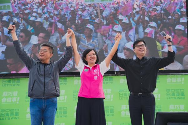 五千人擠爆會場 她用實際成績獲得眾人肯定!(圖/競選總部)