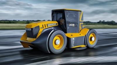 地表最狂「5噸重」拖拉機 直線狂飆240.47km/h打破世界紀錄
