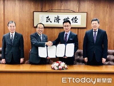 貿協率55家精密零組件台商 與名古屋市長簽訂MOU