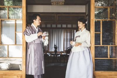 韓國媳婦天心絕美婚紗照曝光