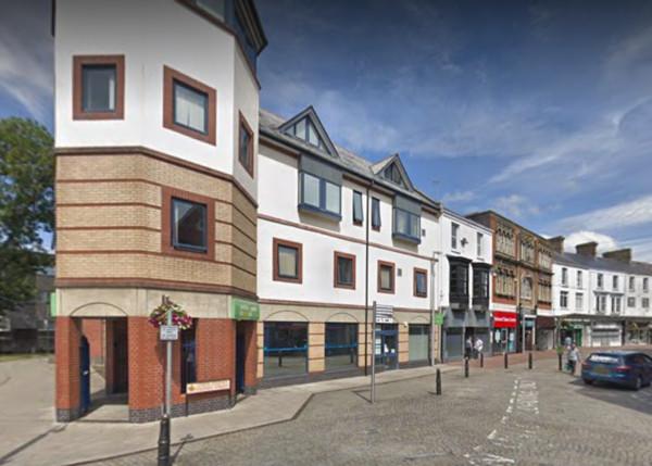 ▲英國威爾斯(Wales)南部城市拉內利(Llanelli)的就業中心。(圖/翻攝Google map)