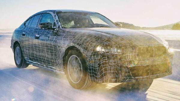 BMW电动房车i4直逼超跑级530匹最大马力 内建全新第5代eDrive电能科技(图/翻摄自BMW)