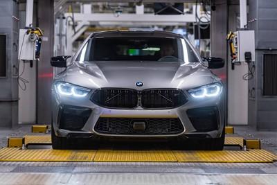 BMW M8 Gran Coupe德國上線生產