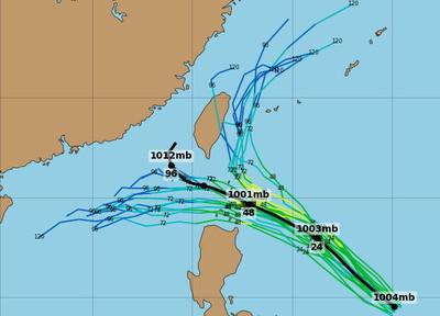 颱風最快今生成北北基宜大雨特報 下周又一波變天降溫