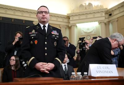彈劾案證人:烏克蘭提讓我當國防部長