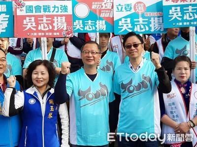 張善政「背書」 籲選民支持吳志揚