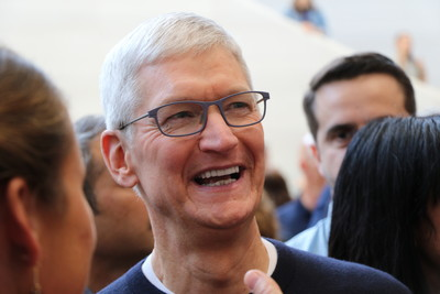 庫克:蘋果目標從不是當第一