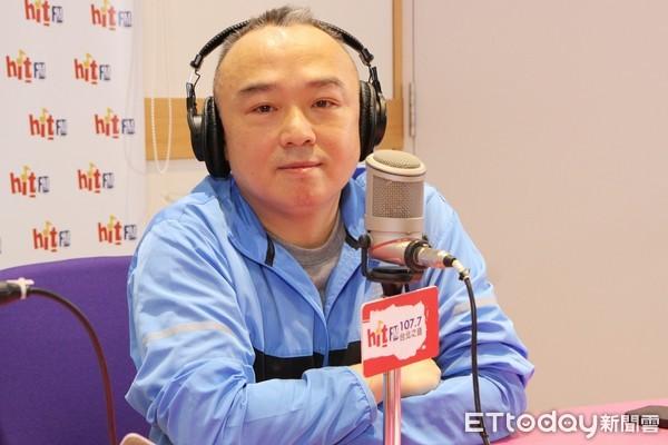 ▲▼潘恒旭接受電台專訪。(圖/明「Hit Fm《周玉蔻嗆新聞》製作單位提供」